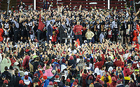 Stanford, Ca - Friday, November 30, 2012: Stanford won the Pac 12 Championships 27-24 over UCLA at Stanford University.