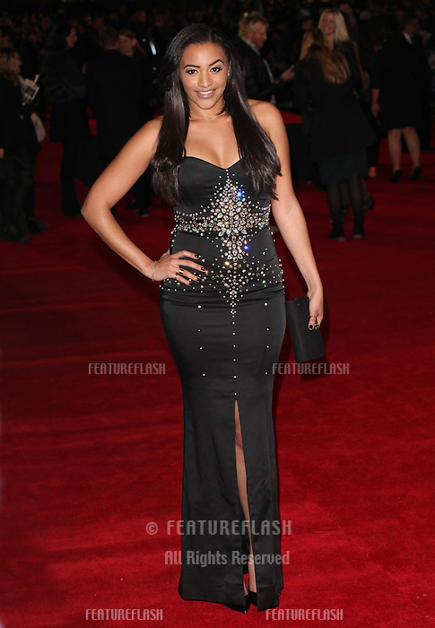 Amal Fashanu arriving for the UK Premiere of Jack Ryan, at Vue Leicester Square, London. 20/01/2014 Picture by: Alexandra Glen / Featureflash