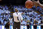 28 December 2016: Monmouth assistant coach Duane Woodward. The University of North Carolina Tar Heels hosted the Monmouth University Hawks at the Dean E. Smith Center in Chapel Hill, North Carolina in a 2016-17 NCAA Division I Men's Basketball game. UNC won the game 102-74.