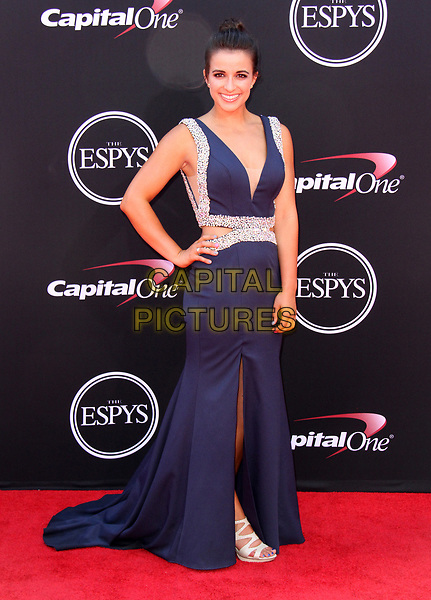 12 July 2017 - Los Angeles, California - Victoria Arlen. 2017 ESPYS Awards Arrivals held at the Microsoft Theatre in Los Angeles. <br /> CAP/ADM<br /> &copy;ADM/Capital Pictures