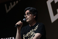 SAO PAULO, SP - 06.12.2018 - CCXP 2018 - O dubladore Guilherme Briggs durante a Comic Con 2018 na S&atilde;o Paulo Expo, na zona sul de S&atilde;o Paulo na tarde desta quinta-feira (06).<br /> <br /> (Foto: Fabricio Bomjardim / Brazil Photo Press)