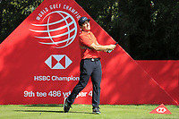 Francesco Molinari (ITA) on the 9th tee during the 2nd round of the WGC HSBC Champions, Sheshan Golf Club, Shanghai, China. 01/11/2019.<br /> Picture Fran Caffrey / Golffile.ie<br /> <br /> All photo usage must carry mandatory copyright credit (© Golffile   Fran Caffrey)