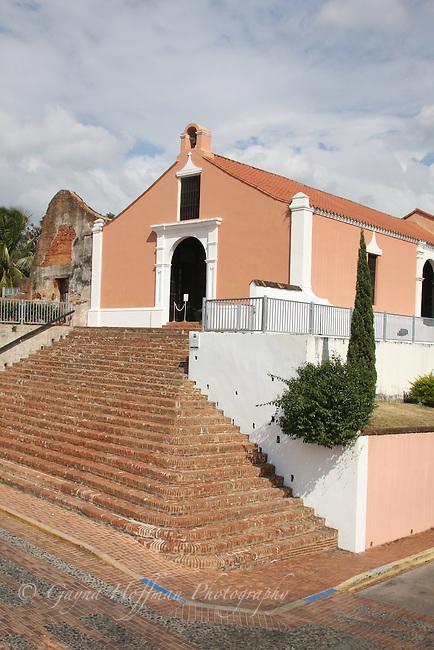 Exterior of the Porta Coeli/Gate of Heaven Church, San Herman, Puerto Rico