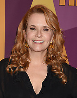BEVERLY HILLS, CA - JANUARY 07: Actress Lea Thompson arrives at HBO's Official Golden Globe Awards After Party at Circa 55 Restaurant in the Beverly Hilton Hotel on January 7, 2018 in Los Angeles, California.