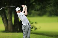 Gavin McEvoy (Clontarf) during the Connacht U14 Boys Amateur Open, Ballinasloe Golf Club, Ballinasloe, Galway,  Ireland. 10/07/2019<br /> Picture: Golffile | Fran Caffrey<br /> <br /> <br /> All photo usage must carry mandatory copyright credit (© Golffile | Fran Caffrey)