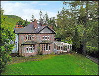 BNPS.co.uk (01202 558833)Pic: BellIngram/BNPS<br /> <br /> Monster saving on Loch Ness property<br /> <br /> A country mansion on the shores of Loch Ness has gone on the market for only £490,000 - the same price as a bedsit in central London.<br /> <br /> The Victorian Foyers Bay House is a spacious eight-bedroom home with 3 acres of grounds, currently run as a B&B, on the southern shore of the famous Scottish loch.<br /> <br /> The mansion sits in a 'private and secluded location, surrounded by woodland' but with views of the loch for discrete Nessie spotting.<br /> <br /> Agent Joanne Stennett of Bell ingram said 'The value for money in the highlands is quite phenomenal - its no wonder Nessie chose to live here'