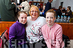 Enjoying the launch of Sandy Feet Farm in Camp on Thursday afternoon which was filmed by RTE's At Your Service with Francis Brennan were: Sophie, Liz and Emma Cronin from Ballyduff.