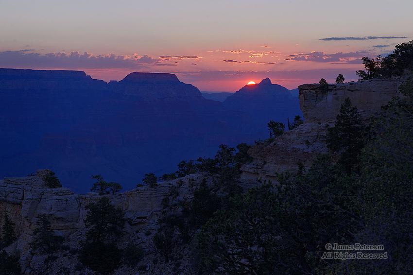 Mather Point Sunrise, Grand Canyon, Arizona