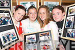 PICTURE PERFECT: Dromid girls checking out the photographic exhibition in Dromid on Thursday evening when the local community organised a festival to welcomed The Turas Ireland South West 2008 challenge to the region..L/r.Edel O'Connor, Sandra O'Shea, Lauren O'Sullivan and Robyn Pledge.   Copyright Kerry's Eye 2008