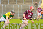 Kerry's John Egan and Westmeath's Ciaran Curley.