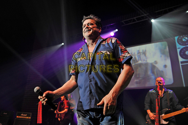 LONDON, ENGLAND - DECEMBER 30: Les McKeown of 'Bay City Rollers' performing at Eventim Apollo on December 30, 2015 in London, England.<br /> CAP/MAR<br /> &copy; Martin Harris/Capital Pictures