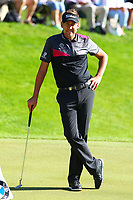 Ian Poulter looks relaxed at the #3 green during the BMW PGA Golf Championship at Wentworth Golf Course, Wentworth Drive, Virginia Water, England on 26 May 2017. Photo by Steve McCarthy/PRiME Media Images.