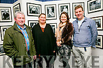 Photographer Jim McCarthy, Catherine McCarthy, Grainne shepherd and Mike O'Neil at official opening of the the the Faces of Fenit exhibition at the Kerry County Library Tralee on Tuesday