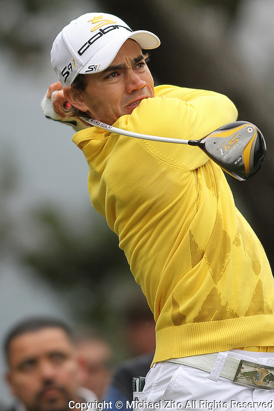 12/05/09 Thousand Oaks, CA: Camilo Villegas during the 3rd round of the Chevron World Challenge held at Sherwood Country Club to benefit the Tiger Woods Foundation.