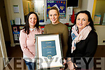 Oakview Childcare, Tralee who were winners of an All Star Business Accreditation Award, which was held in Croke Park, on Tuesday last, l-r: Elaine Lehane, Joelene Wallace and Clódagh Moynihan.