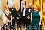 Marion and Dr Oliver Murphy, Jackie and Dr Michael Hall, Robert Rusk and Brid McElligott attending the Enable Ireland Diamond Ball in the Ballygarry House Hotel on Saturday.