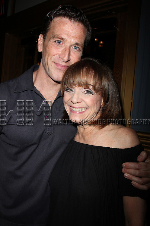 """***Exclusive Coverage***<br /> Backstage at """"LOOPED"""" starring Valerie Harper as Tallulah Bankhead at the Arena Stage - Ford Theatre  in Washington, D.C. June 12, 2009<br /> pictured: Jay Goede & Valerie Harper"""