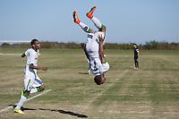 Lakewood Ranch, FL - Saturday, November 29, 2014: U.S. Soccer U17/18 2014 Development Academy Winter Showcase and Nike International Friendlies at Premier Sports Campus.