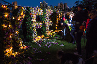 Flowers of hope, Sydney 27.04.15