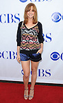 Jayma Mays arriving at CBS first annual National TV Dinner Night, held at CBS Studios in Los Angeles on September 10, 2013