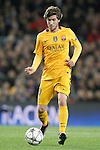 FC Barcelona's Sergi Roberto during Champions League 2015/2016 match. April 5,2016. (ALTERPHOTOS/Acero)