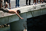 CHILD JUMPS IN WATER OFF PIER (4)