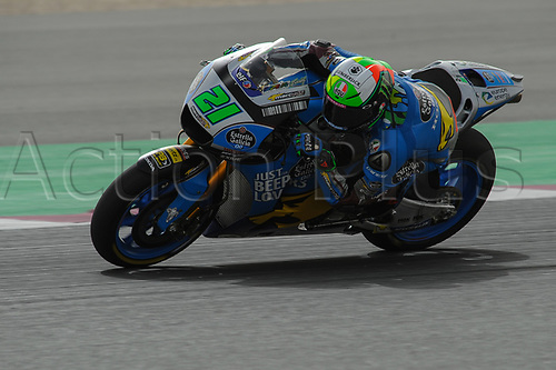 17th March 2018, Losail International Circuit, Lusail, Qatar; Qatar Motorcycle Grand Prix, Saturday qualifying; Franco Morbidelli (Marc VDS)