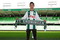GRONINGEN - Voetbal, Presentatie Uriel Antuna , FC Groningen , Noordlease stadion, seizoen 2017-2018, 21-08-2017, Uriel Antuna