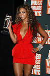 NEW YORK, New York - September 13: Beyonce Knowles poses in the press room at the 2009 MTV Video Music Awards at Radio City Music Hall on September 13, 2009 in New York City.