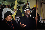 Mount Zion Spiritual Baptist Church.North London Uk. 1990s.