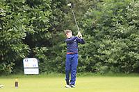 Mark Kilgannon (Galway Bay) during the Connacht U14 Boys Amateur Open, Ballinasloe Golf Club, Ballinasloe, Galway,  Ireland. 10/07/2019<br /> Picture: Golffile | Fran Caffrey<br /> <br /> <br /> All photo usage must carry mandatory copyright credit (© Golffile | Fran Caffrey)