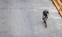 Shane Archbold (NZL/Bora-Hansgrohe) on his way to the finish<br /> <br /> Stage 19: Ávila to Toledo (165km)<br /> La Vuelta 2019<br /> <br /> ©kramon