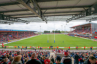 Picture by Allan McKenzie/SWpix.com - 29/04/2018 - Rugby League - Betfred Super League - Hull KR v Leeds Rhinos - KC Lightstream Stadium, Hull, England - A general view, GV, of Hull LKR playing Leeds at the KCOM Lightstream Stadium.