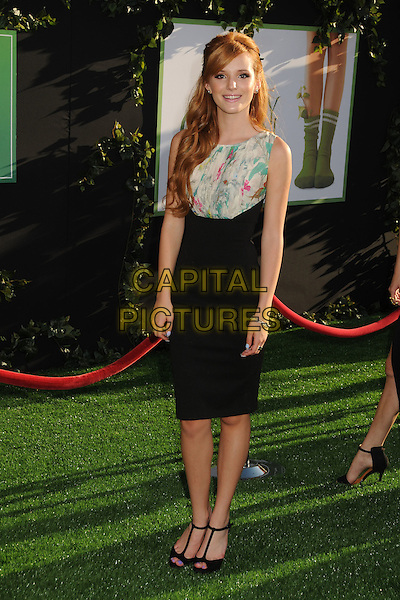 "Bella Thorne.""The Odd Life of Timothy Green"" Los Angeles Premiere, Hollywood, California, USA..August 6th, 2012.full length black skirt dress sleeveless white green print top.CAP/ADM/BP.©Byron Purvis/AdMedia/Capital Pictures."