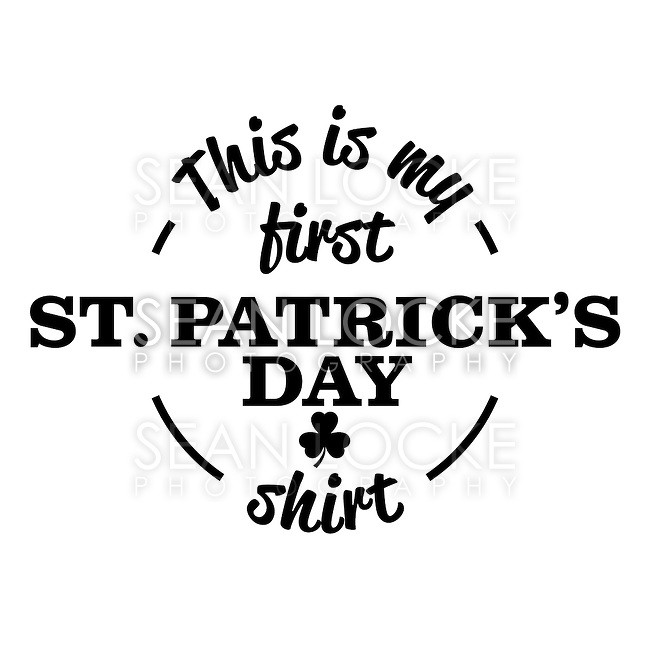 St. Patrick's Day design, good for t-shirt or other product usage.<br />