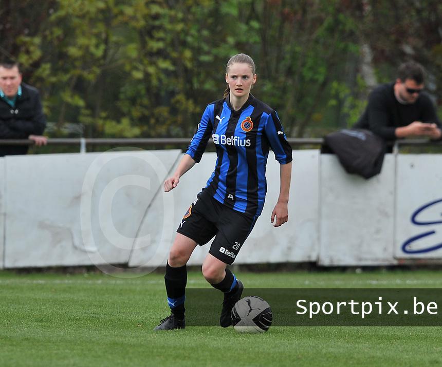 Club Brugge Dames - STVV Sint Truidense VV : Bieke Vandenbussche.foto DAVID CATRY / Nikonpro.be