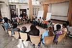 INDIA, KERALA JUNE 2014:<br />Social Marketing session in Khantari, June 2014 @Giulio Di Sturco
