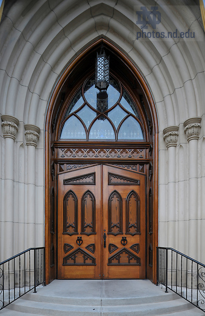June 13, 2011; Basilica South Door..Photo by Matt Cashore/University of Notre Dame