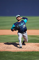 Lynchburg Hillcats starting pitcher Tanner Tully (29) delivers a pitch during the first game of a doubleheader against the Frederick Keys on June 12, 2018 at Nymeo Field at Harry Grove Stadium in Frederick, Maryland.  Frederick defeated Lynchburg 2-1.  (Mike Janes/Four Seam Images)