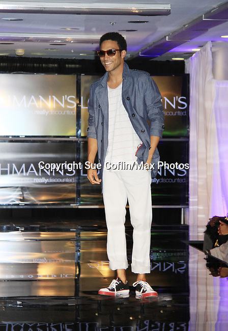 Celebrity Fashion Stylist Felix Mercado's Fashion Nght Out Runway Show and After Party was held on September 6, 2012 at Loehmann's, New York City, New York with celebrities Jordana Brewster (As The World Turns, Dallas and Fast and the Furious), Lisa Vanderpump (The Real Housewives of Beverly Hills with husband Ken Todd and doggie Giggy (Gigolo) and Iris Apfel (fashion muse).  (Photo by Sue Coflin/Max Photos)