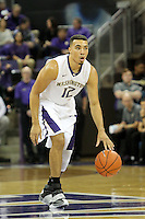 JAN 1, 2016:  Washington's Andrew Andrews against UCLA.  Washington defeated #25 ranked UCLA 96-93 in double overtime at Alaska Airlines Arena in Seattle, WA.