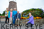 Vera O'Sullivan and the hard working committee l-r: Joan Connors, Ann McKenna, John O'Riordan, Tony McSweeney  from Glenbeigh which has been chosen for the Pride of Place competition