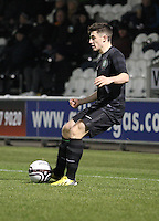 Lewis Kidd in the St Mirren v Celtic Clydesdale Bank Scottish Premier League U20 match played at St Mirren Park, Paisley on 18.12.12..