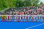 Krefeld, Germany, May 18: During the Final4 semi-final fieldhockey match between Rot-Weiss Koeln and Mannheimer HC on May 18, 2019 at Gerd-Wellen Hockeyanlage in Krefeld, Germany. (worldsportpics Copyright Dirk Markgraf) ***
