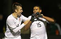 PHOENIX, AZ--US Soccer Development Academy, Reach 11, Phoenix, AZ, Friday, December 5, 2009. U17 USA ties Brazil 1-1 on a goal from Kellen Gulley #15 in the second half.