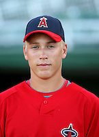 Taylor Lindsey - AZL Angels - 2010 Arizona League. Photo by:  Bill Mitchell/Four Seam Images..