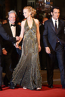 """Philip Kaufman,Nicole Kidman and Clive Owen attending the """"Hemingway and Gellhorn"""" Premiere during the 65th annual International Cannes Film Festival in Cannes, France, 25.05.2012...Credit: Timm/face to face /MediaPunch Inc. ***FOR USA ONLY***"""