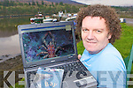 Kenmare underwater photographer Vincent Hyland whose images can be found on 'The Bay' exploring Kenmare Bay underwater CD