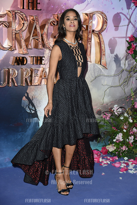 LONDON, UK. November 01, 2018: Misty Copeland at the European premiere of &quot;The Nutcracker and the Four Realms&quot; at the Vue Westfield, White City, London.<br /> Picture: Steve Vas/Featureflash