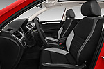 Front seat view of a 2018 Skoda Rapid Spaceback Ambition 5 Door Hatchback front seat car photos